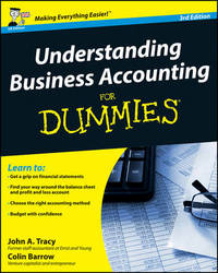 Understanding Business Accounting for Dummies 3E by John A Tracy image
