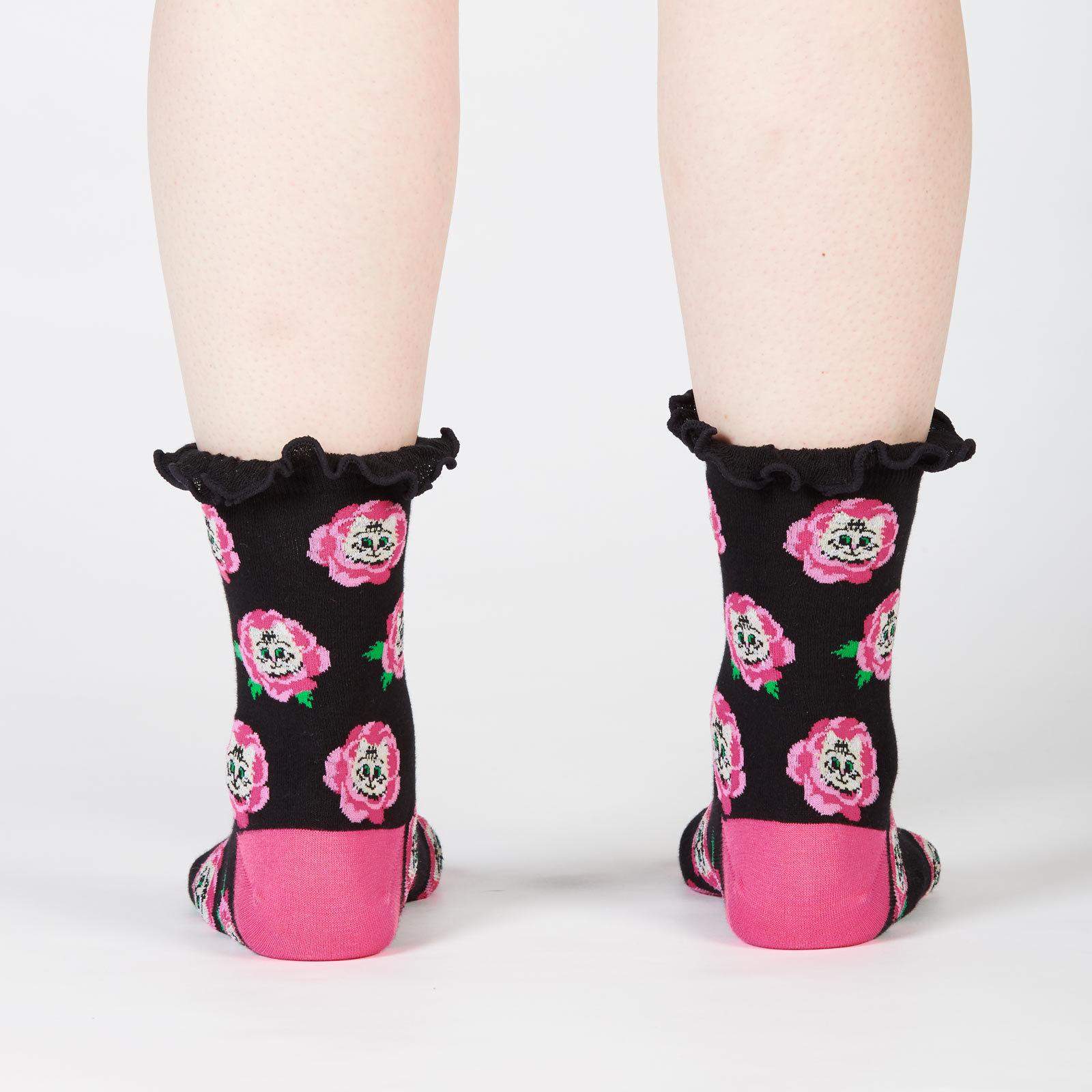 Women's - Cat Buds Crew Socks image