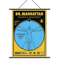 Watchmen Dr. Manhattan Wall Scroll image
