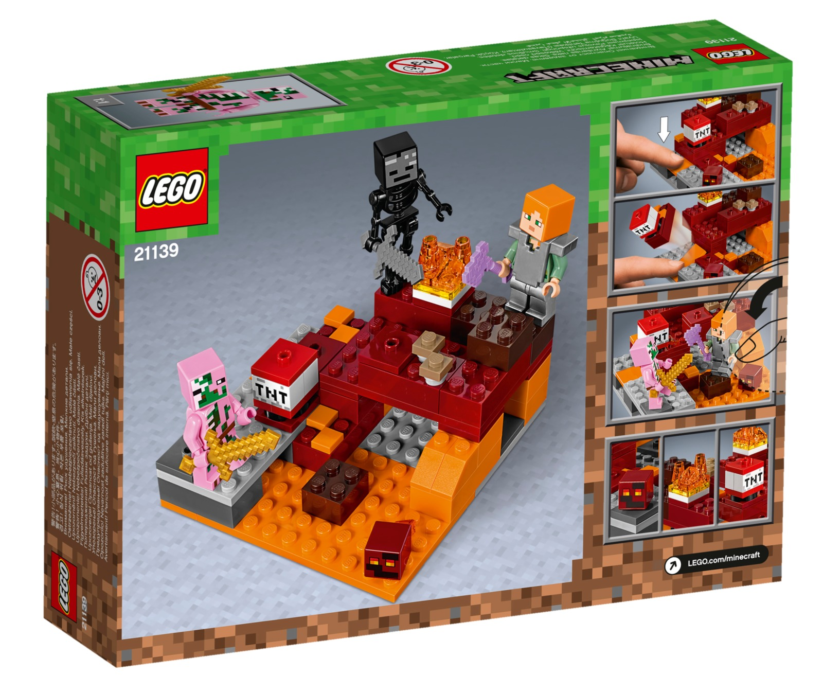 LEGO Minecraft - The Nether Fight (21139) image