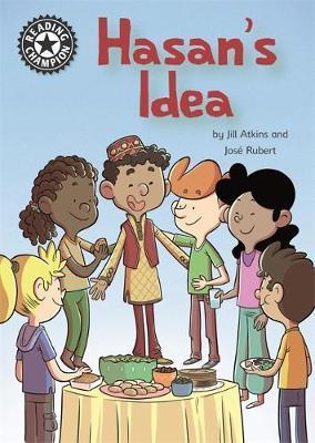 Reading Champion: Hasan's Idea by Jill Atkins image