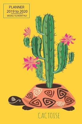 Academic Planner Cactus by Here and Now