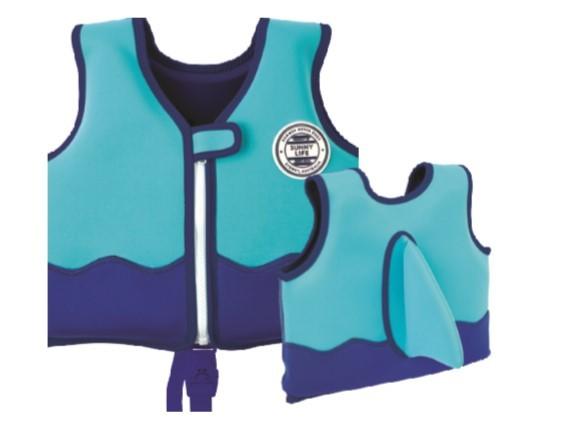 Sunnylife: Float Vest - Shark/1-2