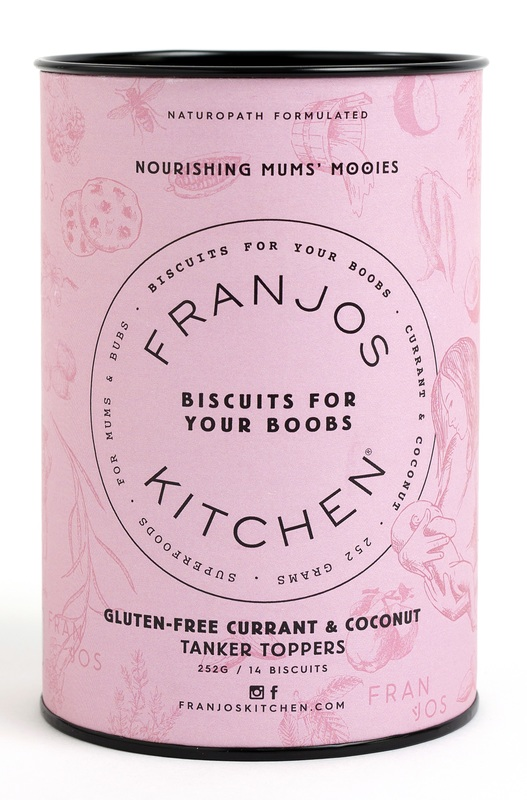 Franjos Kitchen: Tanker Topper Biscuits – Gluten-Free Currant & Coconut (252g)