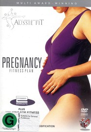 Aussie Fit - Pregnancy Fitness Plan (Plus Walking For Fitness) on DVD image