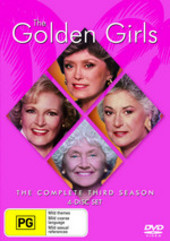 Golden Girls - Complete Third Season (4 Disc Set) on DVD
