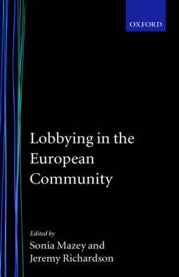 Lobbying in the European Community