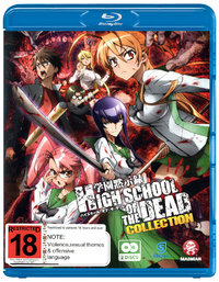 High-School Of The Dead Collection on Blu-ray