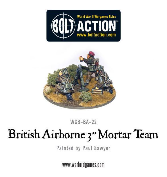 British Para 3'' Mortar & Crew image