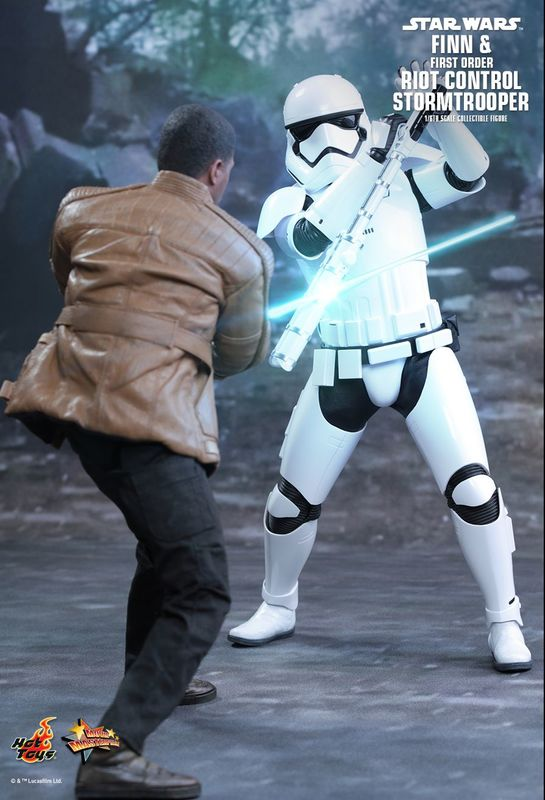 "Star Wars: The Force Awakens - 12"" Finn & First Order Riot Control Figure Set"