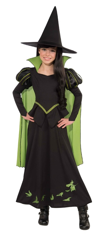 Wizard of Oz Kids Wicked Witch of the West Costume (Large)