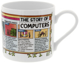 McLaggan Smith: Brainwaves Coffee Mug - History of the Computer