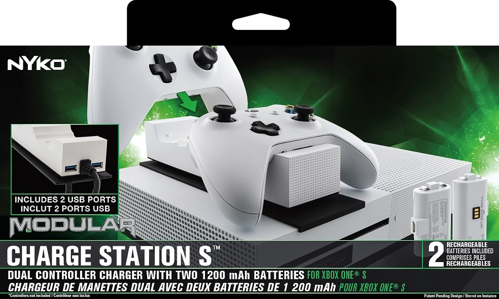 Nyko Xbox One S Modular Charge Station for Xbox One image