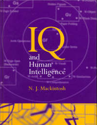 IQ and Human Intelligence by N.J. Mackintosh image