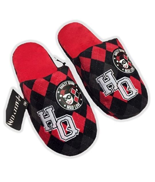 a40e30704cc0 ... DC Comics  Harley Quinn - Slip On Slippers (Small) image