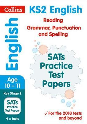 KS2 English Reading, Grammar, Punctuation and Spelling SATs Practice Test Papers by Collins KS2 image