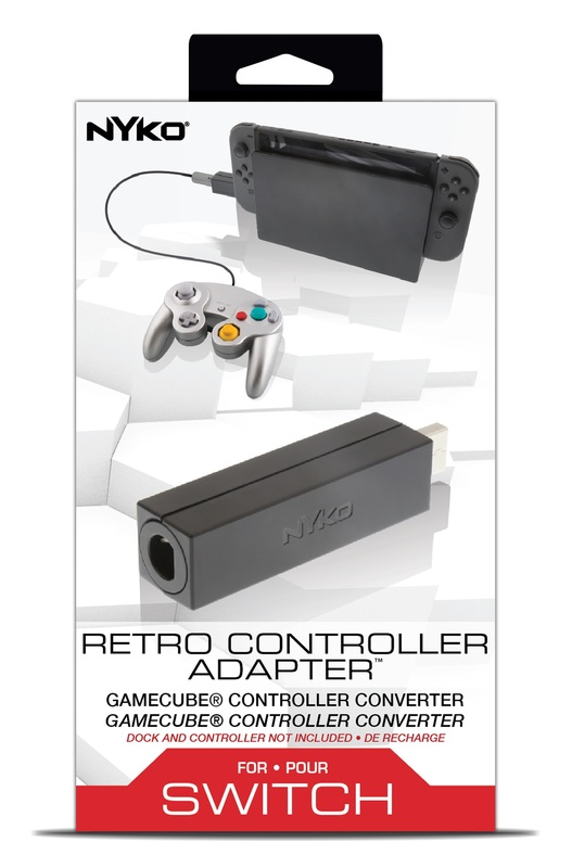 Nyko Switch Retro Controller Adaptor for Switch
