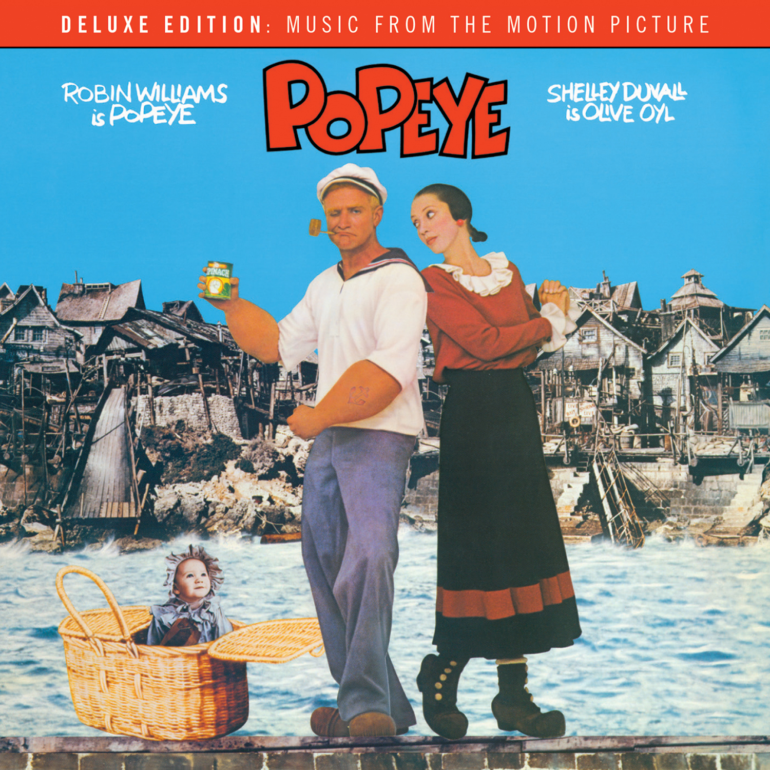 Popeye - Deluxe Edition Music From The Motion Picture by Harry Nilsson image