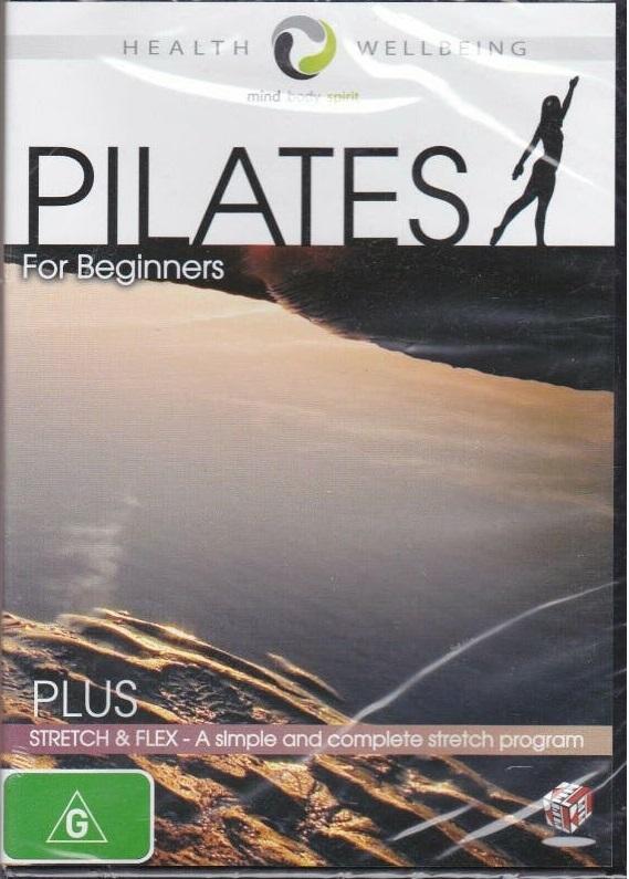 Pilates for Beginners Plus Stretch & Flex on DVD