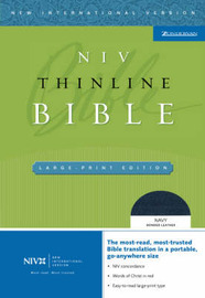 NIV Thinline Bible by Zondervan Publishing image