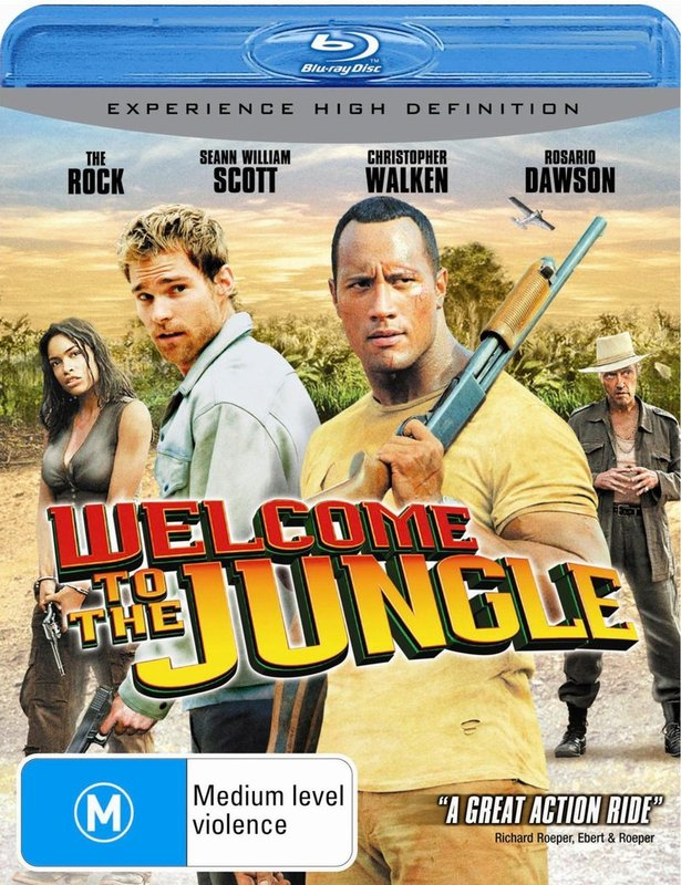 Welcome To The Jungle on Blu-ray