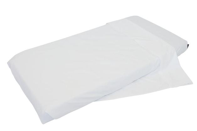Mum 2 Mum NZ Cot Fitted Sheet - White