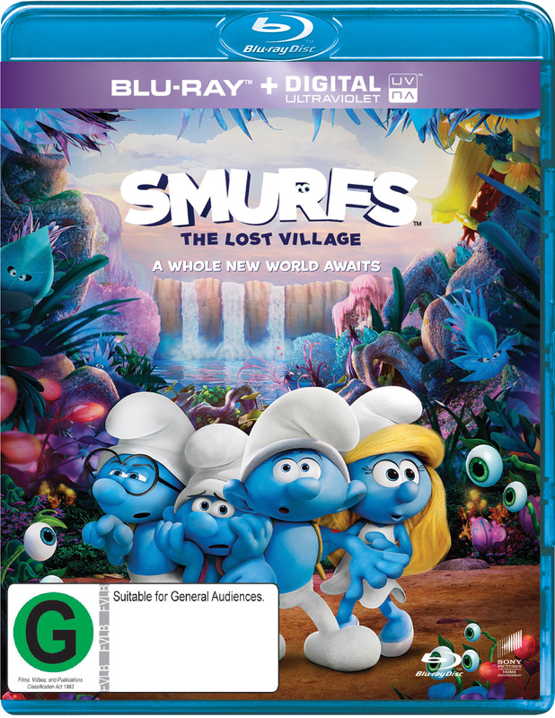 Smurfs: The Lost Village on Blu-ray