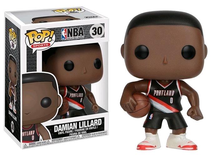 NBA - Damian Lillard Pop! Vinyl Figure image