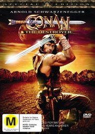 Conan The Destroyer - Special Edition on DVD image
