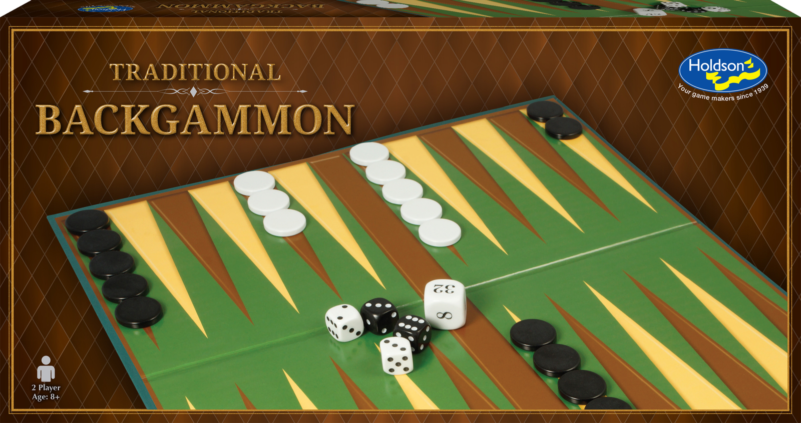 Holdson: Backgammon - Traditional Board Game image