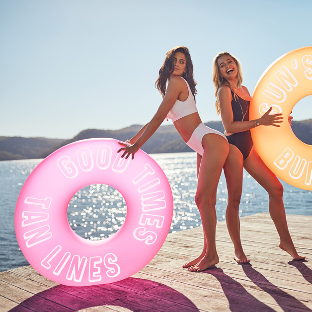 Sunnylife Pool Ring - Neon Pink