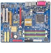 Albatron Motherboard PX915P-AGPE P4 AGP+PCIE+SATA+7.1SND+GB LAN image