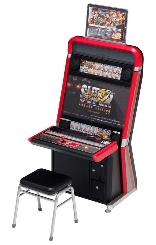 Street Fighter Arcade Edition Vewlix Cabinet 1/12 Model Kit