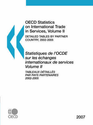 OECD Statistics on International Trade in Services: Vol II by OECD: Organisation for Economic Co-operation and Development