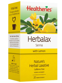 Healtheries Herbalax with Lemon Tea (Pack of 20)