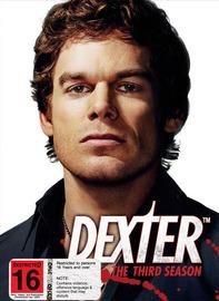 Dexter - The Third Season on DVD