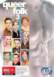 Queer As Folk : The Complete Third Season (4 Disc Set) on DVD image