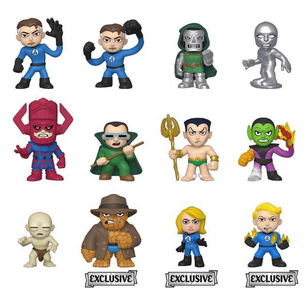 Fantastic 4 - Mystery Minis Figure - [TAR Ver.] (Blind Box)