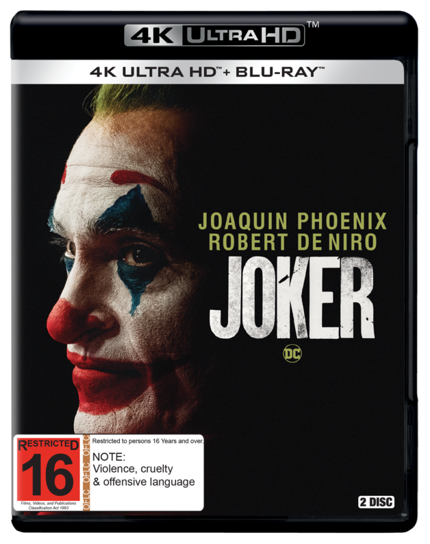 Joker on UHD Blu-ray