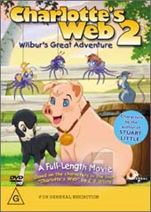 Charlotte's Web 2 - Wilbur's Great Adventure on DVD
