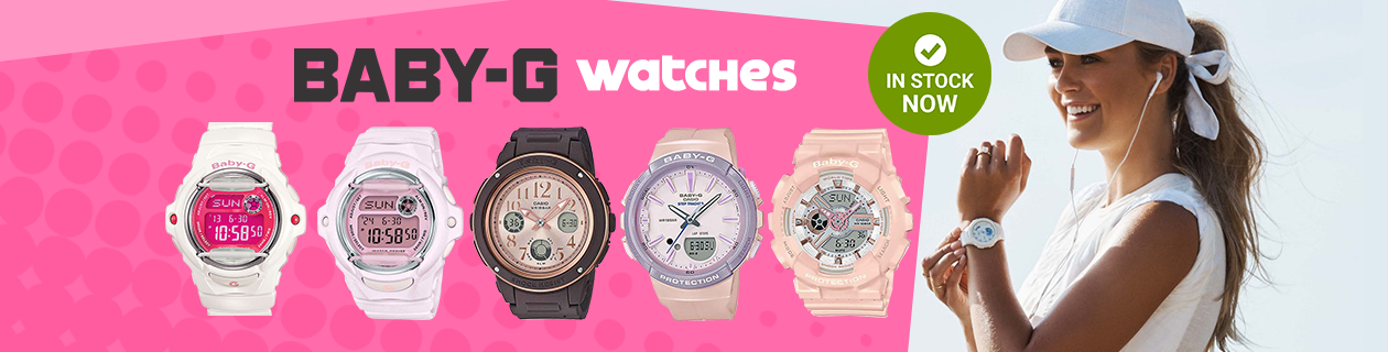 Baby-G Watches Now Stocked!