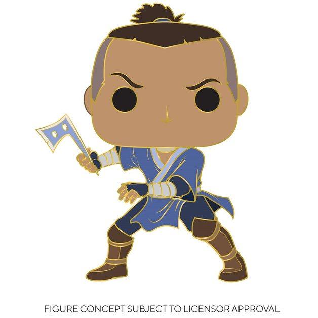 """Avatar TLA: Sokka - 4"""" Pop! Enamel Pin"""
