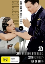 Gold Cinema Collection - Vol. 4 (Carve Her Name With Pride / Cottage To Let / Sea Of Sand) (3 Disc Set) on DVD