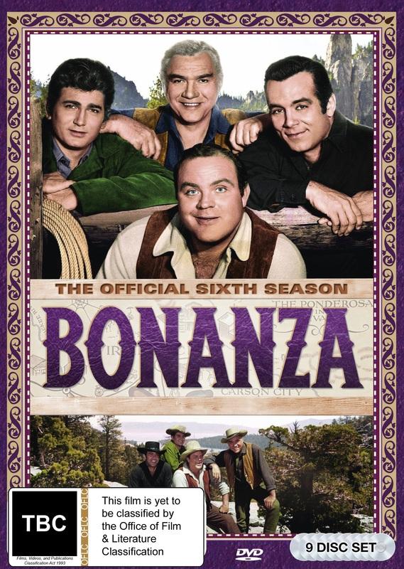 Bonanza: Season 6 on DVD