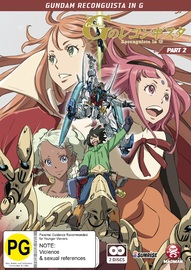 Gundam Reconguista In G: Part 2 - Eps 14-26 (Subtitled Edition) on DVD