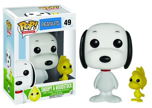 Peanuts - Snoopy & Woodstock (Flocked) Pop! Vinyl Figure