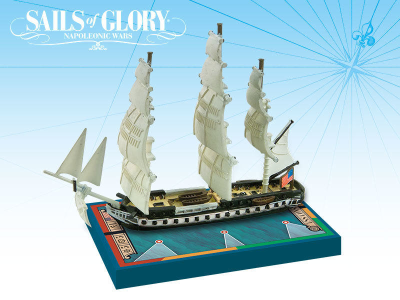 Sails of Glory - US USS Constitution 1797 Frigate image