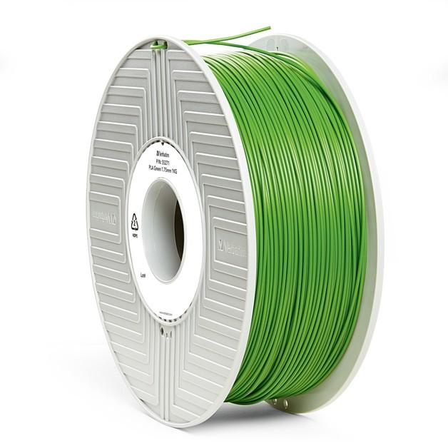 Verbatim 3D Printer PLA 1.75mm Filament - 1kg (Green)