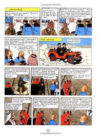 Land of Black Gold (The Adventures of Tintin #15) by Herge image