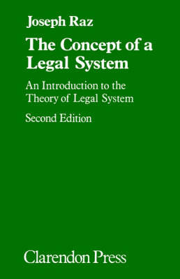 The Concept of a Legal System by Joseph Raz image